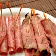 Stock Photo: Deli Meats as Appetizers