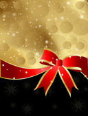 Christmas-Black and Gold — Stock Photo