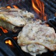������, ������: Grilling Chicken Thighs
