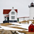 Cape Neddick Lighthouse (Nubbles) — Stock Photo