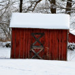 Stock Photo: Red Shed