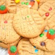 Fall Festive Colorful Cookies — Stock Photo