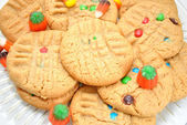 Fall Festive Colorful Cookies — Foto de Stock