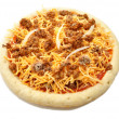 Raw Taco PizzPie — Stock Photo #42008729