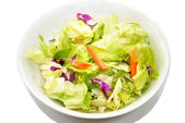 Appetizer Salad in a White Bowl — Stock Photo