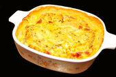 Cheesy Potato Casserole — Stock Photo