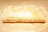 Preparing Bread Dough — Stock Photo