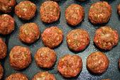 Beef Raw Meatballs — Photo