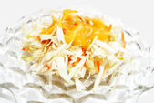 Appetizer Salad of Coleslaw — Stock Photo
