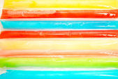 Close-Up of Frozen Ice Pops — Stock Photo