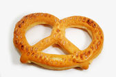 Frozen Soft Pretzel Ready to be Baked — Stock Photo