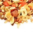 Fruit and Nut Trail Mix with Room for Copy Space — Stock Photo