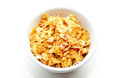 Healthy Yogurt Cereal Made of Corn Flakes and Oats — Stock Photo