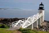 Marshall Point Lighthouse, Maine USA — Stock Photo