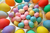 Delicious Colorful Easter Treats — Stock Photo