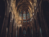St.Vitus cathedral — Stock Photo