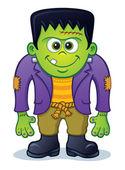Cute Frankenstein Monster — Stock Photo