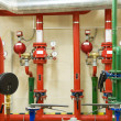 Fire sprinkler control system — Stock Photo #47719613