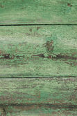 Green painted wooden texture background — Stock Photo