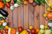 Vegetables and fruits composition  — Stock Photo