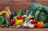 Vegetables composition — Stock Photo