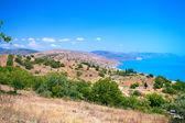 Beautiful mountain sea coast — Zdjęcie stockowe