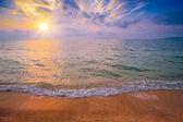 Magic sunrise over sea — Stock Photo