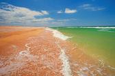 在克里米亚半岛海滨 — 图库照片