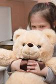 Hurt child — Stock Photo