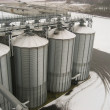 Stock Photo: Grain elevator