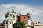 Basilica of Ars sur Formans — Stock Photo