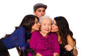 Loving grandchildren — Stok fotoğraf