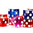 Stock Photo: Colorful Dice