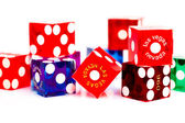 Colorful Dice — Stock Photo