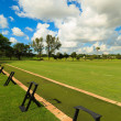 Golf Driving Range — Stock Photo
