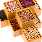 Boxes of beans — Photo