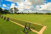 Driving range golf — Stockfoto