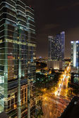 Miami Brickell Avenue — Stock Photo