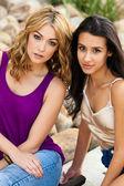 Beautiful Young Women — Stock fotografie