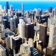 downtown chicago — Stock Photo