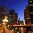 Stock Photo: chicago riverwalk