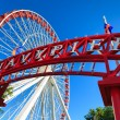 Navy Pier Ferris Wheel — Stock Photo #38230799