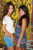 красивых молодых женщин — Стоковое фото