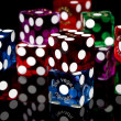 Colorful Dice — Stock Photo #38271073