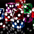 Colorful Dice — Stock Photo #38271101