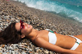 Beauty in the Riviera — Stock Photo