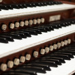 Stock Photo: Pipe Organ
