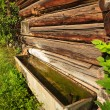 Stock Photo: Barn Water Trough