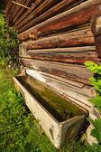 Barn Water Trough — Stock Photo