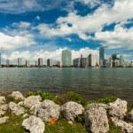 Miami Skyline — Stock Photo